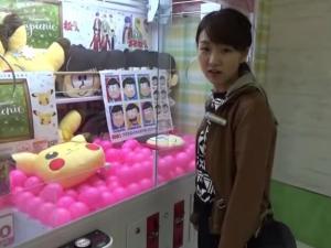 日本妹子带你夹娃娃去!_歪阅_最好看的YY新闻