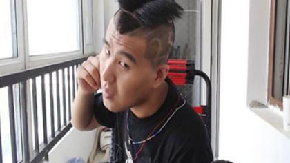 酷啊!张春龙2893做成发型!